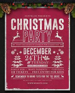 24 christmas flyers psd vector eps for Christmas flyer templates