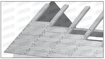 roof deck materials  ensure  stable roof surface iko