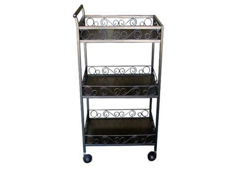 Marshall 2 shelf rolling coffee table cart. 3 Tier Steal Spa Shelf Rolling Cart- Coffee Massage Spa Equipment Supply