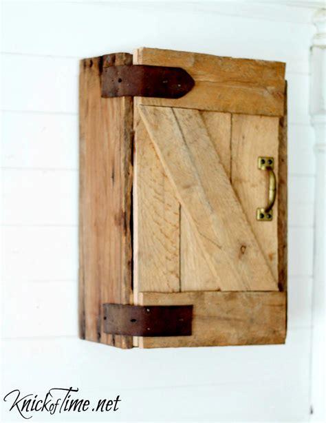 barn door medicine cabinet diy barn door wall cabinet via knickoftime net