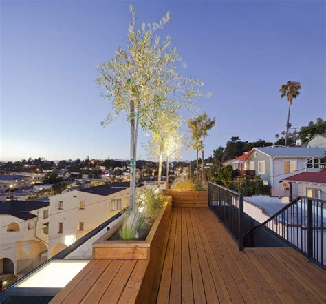 rooftop garden los angeles roof terrace eels nest los angeles by anonymous architects