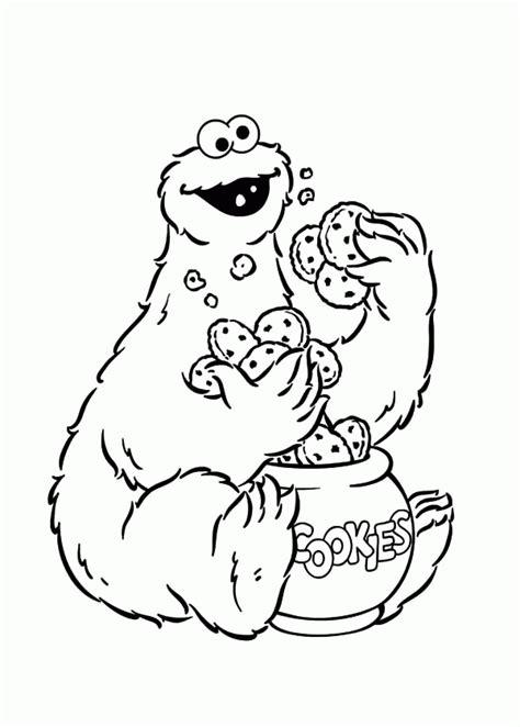Cookie Monster Eating Cookies House Cookies