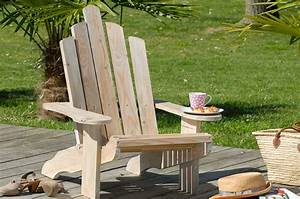 Fabriquer Un Fauteuil : fabriquer un fauteuil adirondack diy family ~ Zukunftsfamilie.com Idées de Décoration