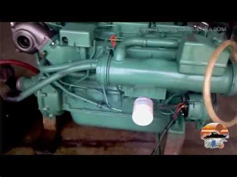 volvo 200 hp 41b diesel run up