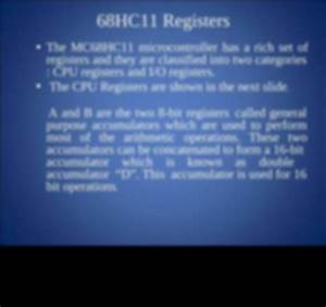 Introduction-to-m68hc11 Ppt