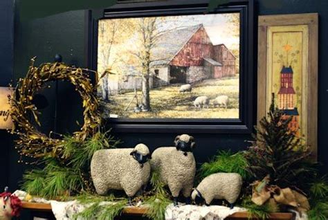 Country Primitive Home Décor: Primitive Country Craft Ideas