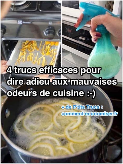 odeur de cuisine 4 trucs efficaces pour dire adieu aux mauvaises odeurs de