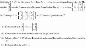 Eigenwerte Einer Matrix Berechnen : mp forum eigenwerte und eigenvektoren einer matrix ~ Themetempest.com Abrechnung