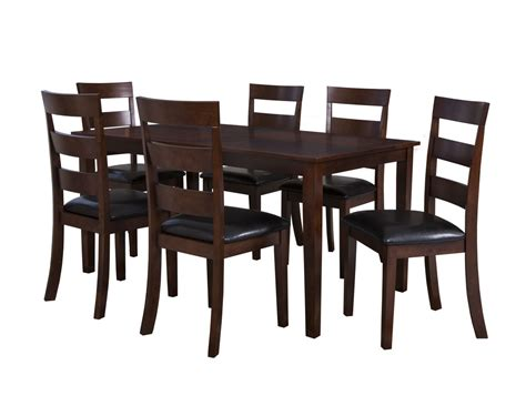 Powell Furniture Linville Cherry 7pc Dining Room Set The