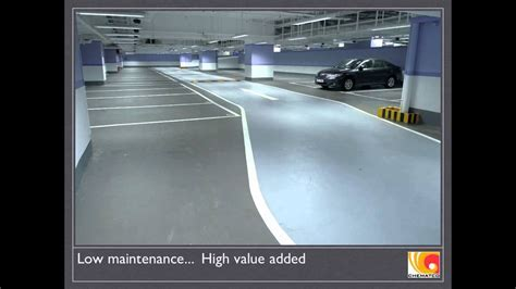 Tsuen Wan Plaza, Hong Kong. Car Park Epoxy Flooring by