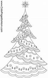 Christmas Coloring Pages Tree Adults Holiday Star Contours Adult Fir Colorpagesformom Pattern Collage Garland Boiling Pan Toilet Paper Print Symbol sketch template