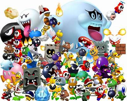Koopa Troop Mario Enemies Bros Characters Troopa