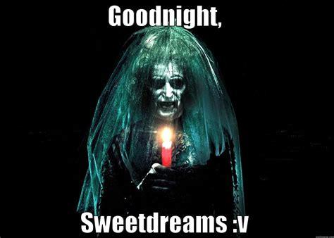 Horror Face Meme - goodnight scary face meme
