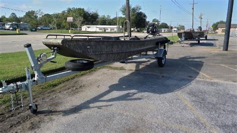 Bowfishing Boat Craigslist Texas by Gator Trax New And Used Boats For Sale