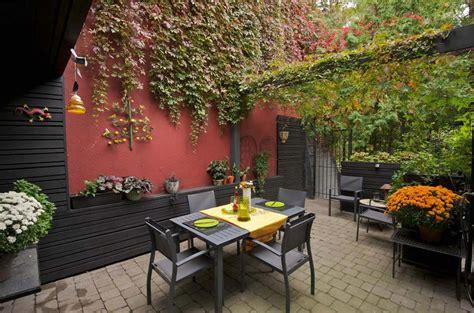 amenagement terrasse de styles  inspirations differents