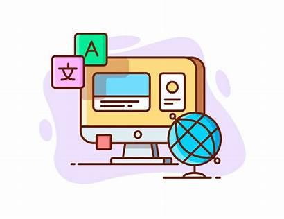 Translation Illustration Machine Ai Neural Translator Linguistics