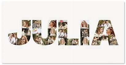 Collage Letter Fotos Birthday Foto Gratis Letras