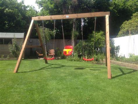 heavy duty swing set garden ireland