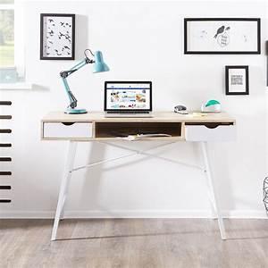 Schreibtisch Kleine Räume : schreibtisch bryrup 76x120 2 schubladen retro ~ Sanjose-hotels-ca.com Haus und Dekorationen