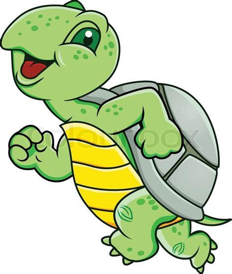 Running Turtle Clip Art