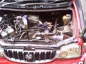 Perodua Kembara   Daihatsu Terios Workshop  Bolt On Turbo