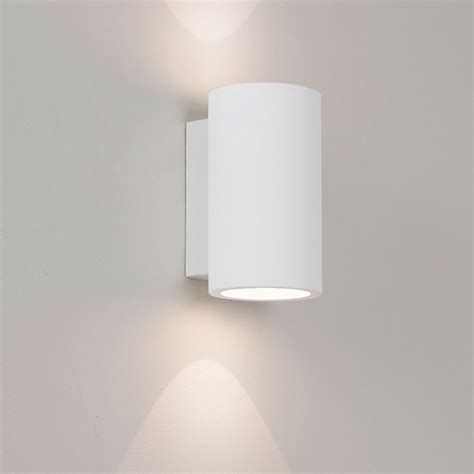 astro bologna 160 plaster led wall light at uk electrical