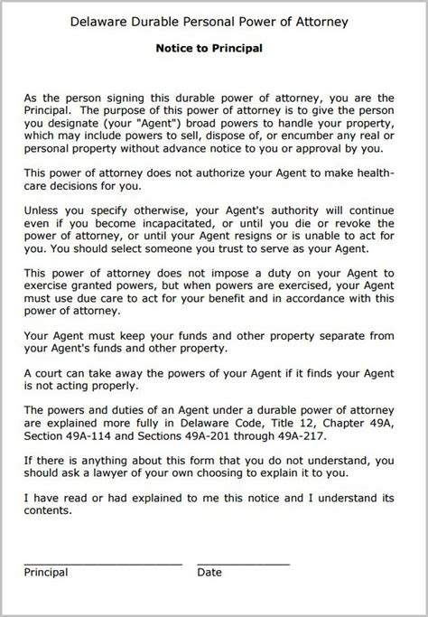 durable power of attorney form for california durable power of attorney form california free form