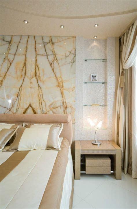 Dekoration Für Schlafzimmer by Schlafzimmer Wandgestaltung Marmor Platte Mosaik Nische