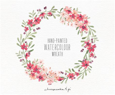 wreath clipart watercolor pencil and in color wreath clipart watercolor