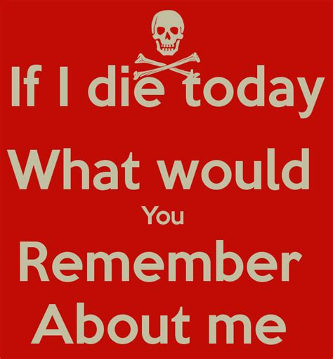 If You Died Tonight Quotes