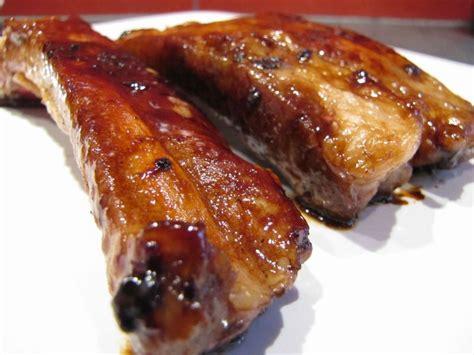 cuisiner des travers de porc travers de porc caramélisés à la plancha pour ceux qui