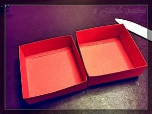 Boite Cartonnage Tuto Gratuit : tutoriel bo te carr e avec couvercle australe cr ations ~ Louise-bijoux.com Idées de Décoration