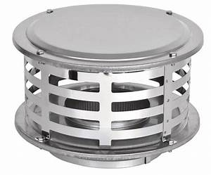 Ventis All-fuel Chimney Stainless Standard Rain Cap