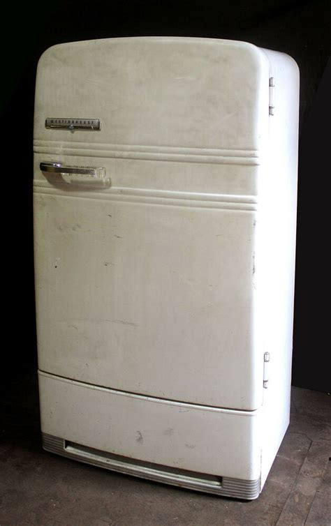 working complete vintage westinghouse refrigerator ice
