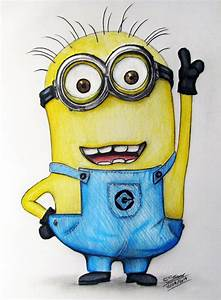 Minion Fan Art Drawing (Despicable Me) by LethalChris on ...