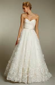 sweetheart wedding dresses ivory a line wedding dress with sweetheart neckline and embellished skirt onewed