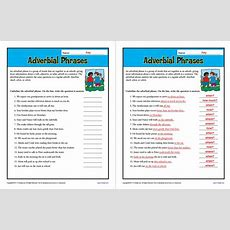 9 Of The Best Fronted Adverbials Worksheets, Examples And Resources For Ks1 And Ks2 English