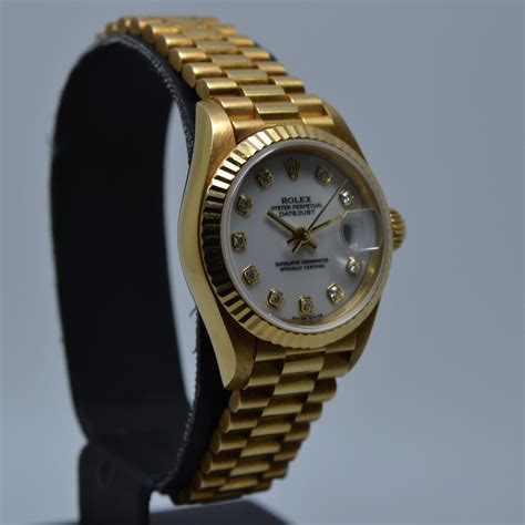 Rolex 79178 Datejust 18K Gold President K serial from 2001 ...