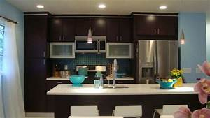 be bold and sophisticated with dark cabinets With best brand of paint for kitchen cabinets with brooklyn bridge metal wall art