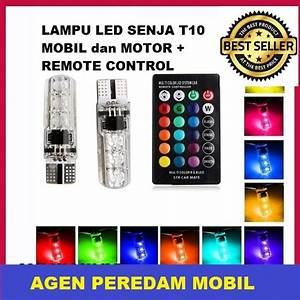 Jual Lampu Led Senja T10 Mobil Dan Motor Remote Control Di