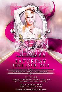 17, Fashion, Show, Flyer, Templates, In, Word, Psd, Ai, Eps
