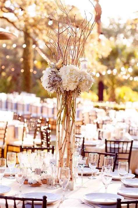 ideas  tall vases wedding  pinterest tall