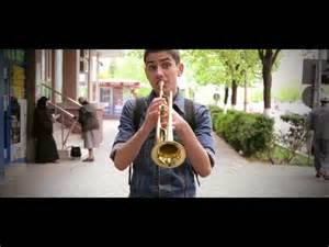 Pharrell Williams Happy Trumpet Notes