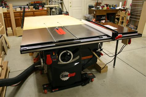 Sawstop Cabinet Saw Used by Review Sawstop Industrial Cabinet Saw Ics31230 3 Hp 1