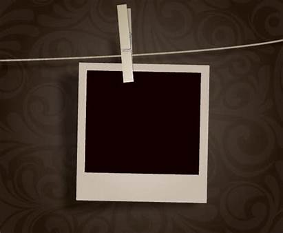 Hanging Blank Vector Polaroid Freevector