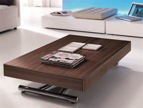 Leather Top Coffee Tables