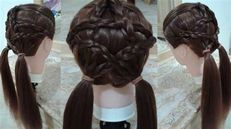 peinados  nina  mariposa   faciles  cabello largo bonitos  rapidos  la escuela