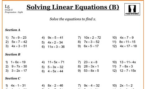 maths worksheets for year 7 algebra year 7 maths worksheets pdf with answers cazoom maths