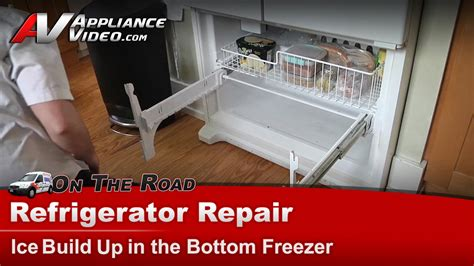 whirlpool gxfhdxvq refrigerator repair ice buildup