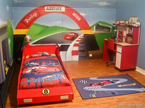d馗oration chambre cars d 233 coration chambre cars